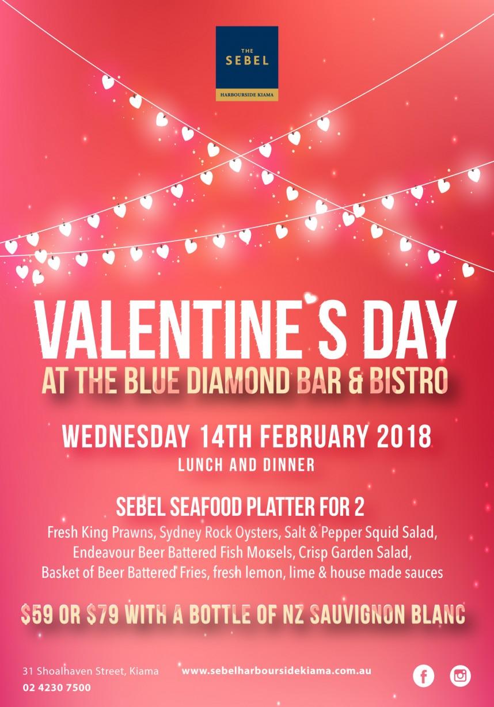 Valentines Day at The Blue Diamond Bar & Bistro
